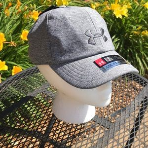 Women's grey Under Armour Hat